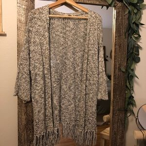 Loft 3/4 Sleeve Cardigan (small)